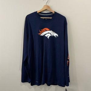 Nike | Dri-Fit Denver Broncos Long Sleeve Shirt